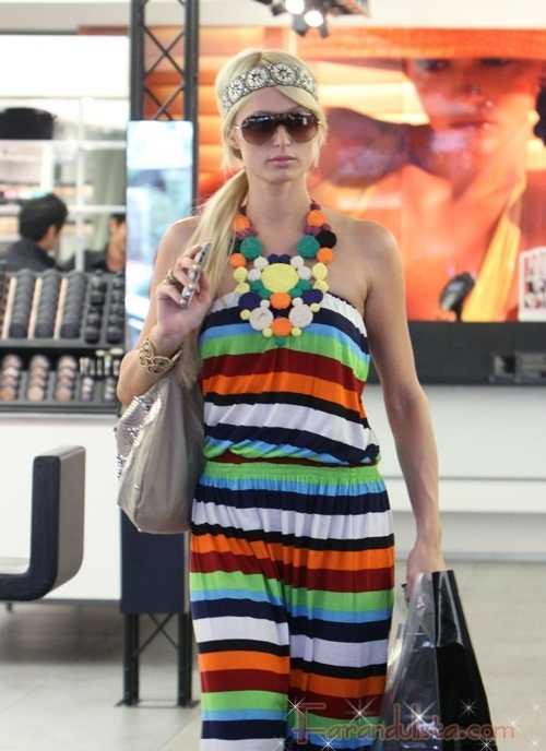 Paris Hilton detenida por Droga en la Copa Mundial Africa 2010
