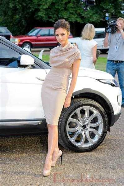 Victoria Beckham diseñará para Range Rover