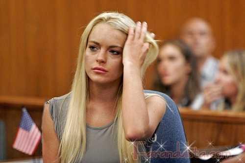 Lindsay Lohan lleva extensiones en prision, no es trato especial eh!