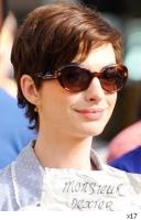 Anne Hathaway cambia de look! Corta su cabellera