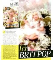 Britney Spears en Pop Magazine como personaje de manga