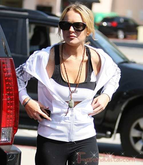 Lindsay Lohan pronto fuera de Rehab