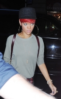 Rihanna y su tattoo mal escrito en New York city