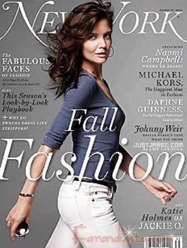 Katie Holmes en New York Magazine Fall 2010 Fashion issue