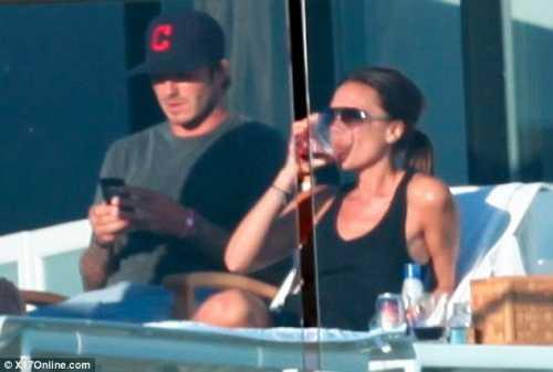 David y Victoria Beckham disfrutando del sol – Gossip Gossip!