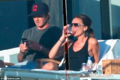 David y Victoria Beckham disfrutando del sol - Gossip Gossip!