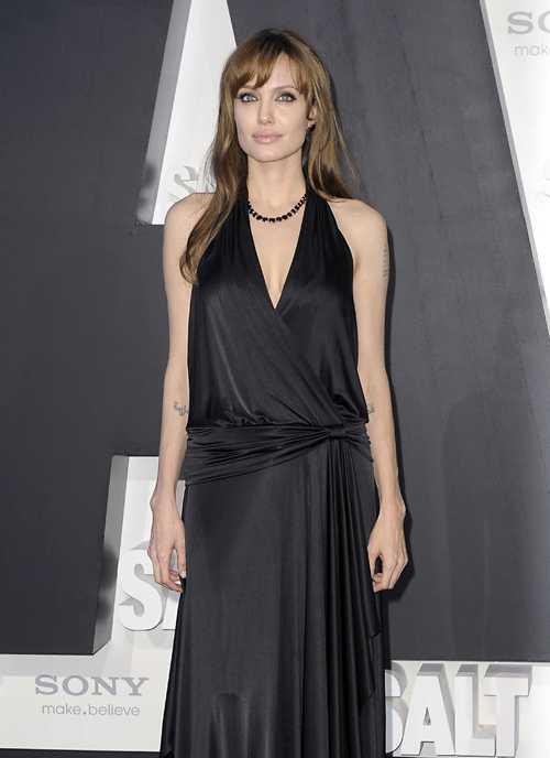 Angelina Jolie no tiene muchos amigos... SAD!