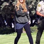 Lindsay Lohan es pelirroja otra vez! Gossip Gossip!