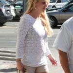 Britney Spears tiene problemas con sus extesiones