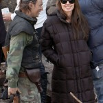 Angelina Jolie filmando en Hungría |Ange prevented from filming in Bosnia|