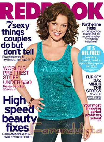 Katherine Heigl en RedBook magazine