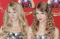 Taylor Swift y su estatua de cera en el Madame Tussaud | Taylor and her wax figure|