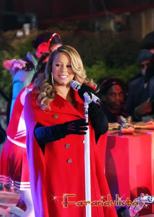 Mariah Carey espera gemelos?