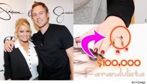 Jessica Simpson compró su anillo de compromiso?? WTF?