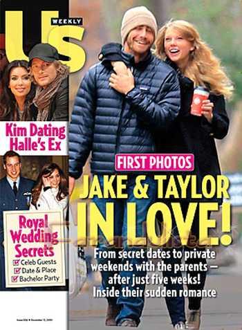 Taylor Swift & Jake Gyllenhaal enamorados? Us magazine