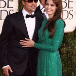Angelina Jolie & Brad Pitt Golden Globe 2011 - Red Carpet