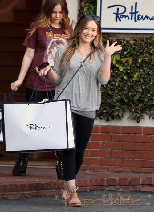Hilary Duff embarazada? Nope!