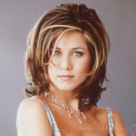 fotos de rachel green y su corte de cabello en friends rachel haircut