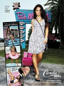 Vanessa Hudgens nueva imagen de Candie's - Promos!