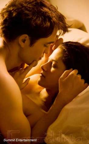 Robert & Kristen Foto de Edward & Bella desnudos en Breaking Dawn