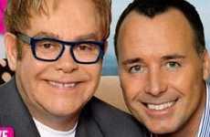 Censuran portada de Elton John presentando a su baby – Discusion