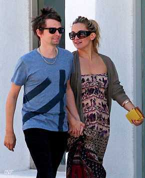 Kate Hudson embarazada por segunda vez, de Matthew Bellamy