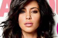 Kim Kardashian Glamour Magazine Feb 2011