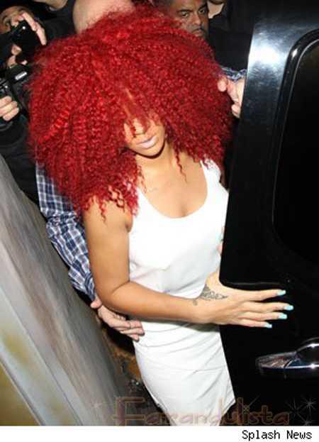 El nuevo look de Rihanna - OMG!! Sr. Patiño!!!? Gossip!