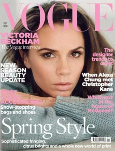 Victoria Beckham confiesa haber retirado sus implantes (Vogue)