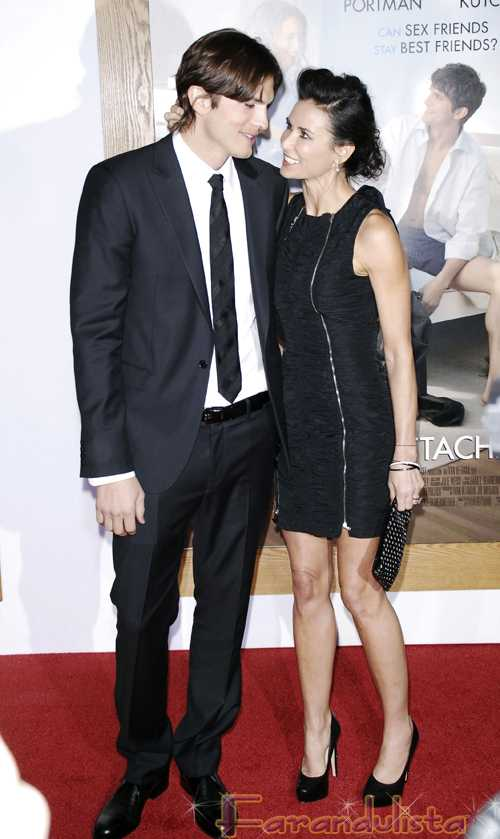 Ashton Kutcher & Demi Moore abucheados en el Sao Paulo Fashion Week