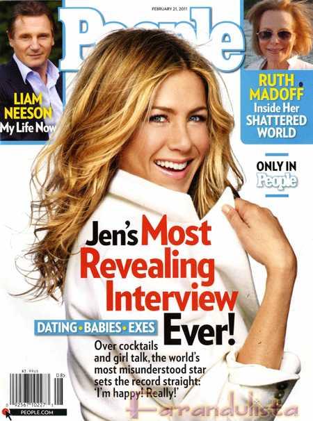 Jennifer Aniston es Feliz - REALLY!!