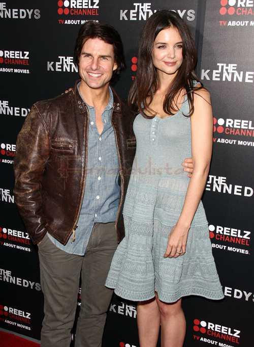 Tom Cruise & Katie Holmes en la Premier de The Kennedys