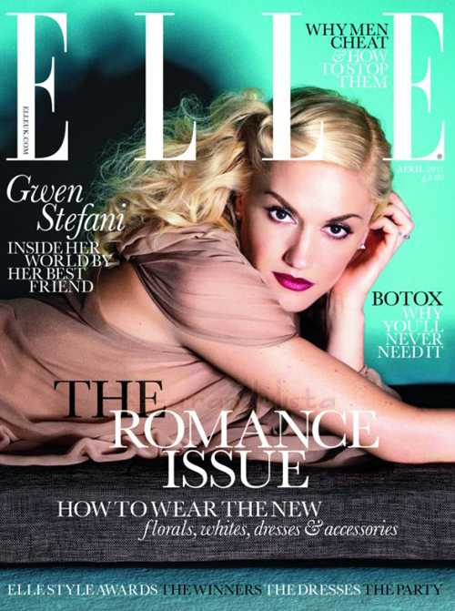 Gwen Stefani en Elle Magazine UK [Abril 2011]