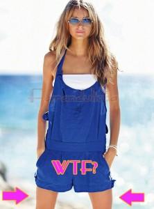 WTF? Los muslos de la modelo de Victoria's Secret