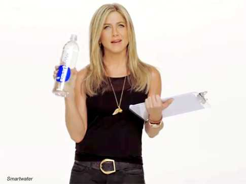 Jennifer Aniston para Smartwater - Viral Video