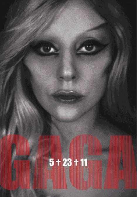 Lady Gaga promociona su nuevo album Born This Way 5+23+11