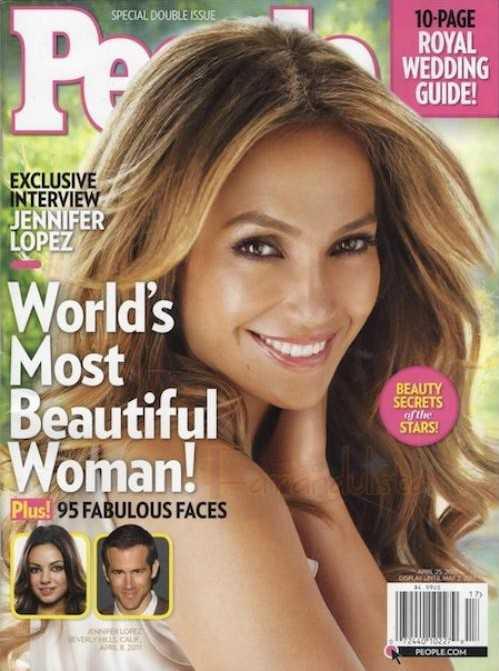 Jennifer Lopez la Mas Bella del Mundo [People magazine] - Gossip!
