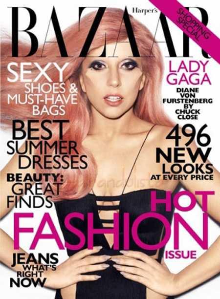 Lady Gaga: nunca me he hecho cirugias plásticas [Harper's Bazaar]