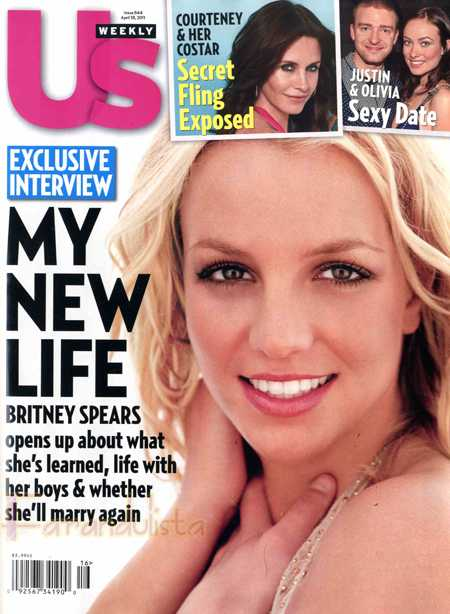 Britney Spears habla de sus planes de matrimonio? [Us magazine]