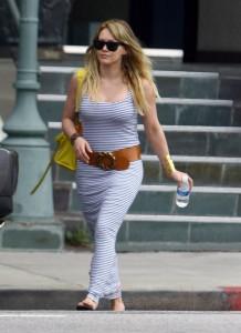 Hilary Duff fuera del film de Bonnie y Clyde?