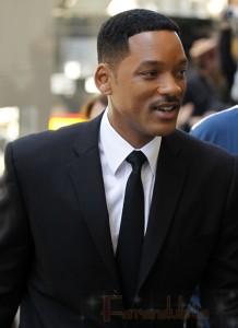 Will Smith en el set de Men in Black III - Yaaaay!!