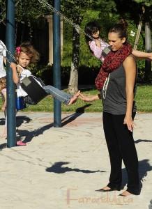 Jessica Alba tendrá una bebita? Hermanita para Honor?