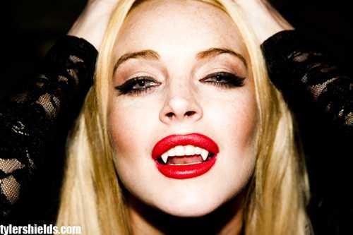 Lindsay Lohan es un vampiro... ooh boy!