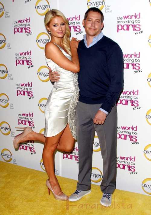 Paris Hilton y Cy Waits reevaluando su relación... OK!
