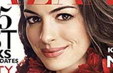 Anne Hathaway en Harpers Bazaar… OMG!