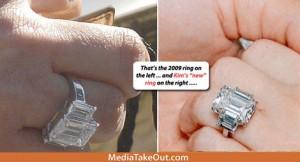 Kim Kardashian compro su anillo de compromiso? Embarazada? Fake?