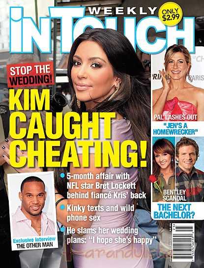 RIDICULOUS!!!! Kim K Engaña a su prometido! [InTouch]