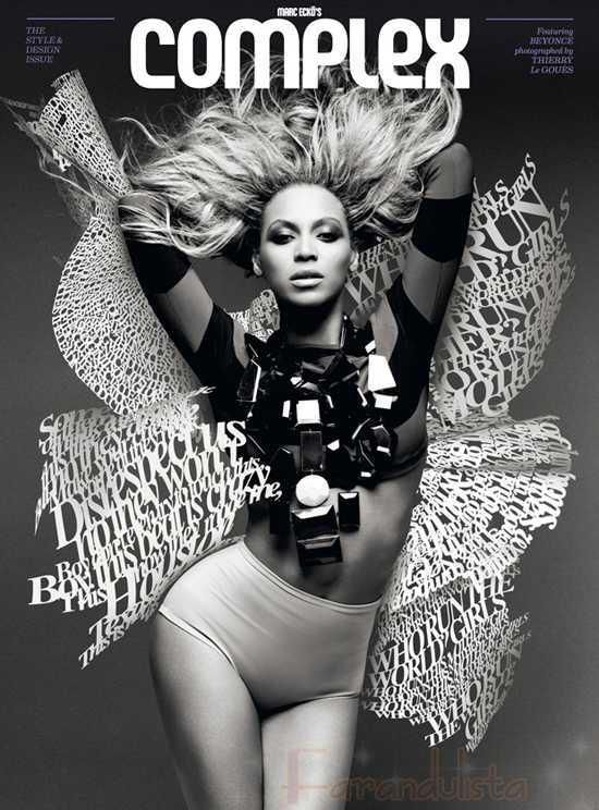 Beyonce en Complex Magazine Agosto-Sept 2011 - Diva!!