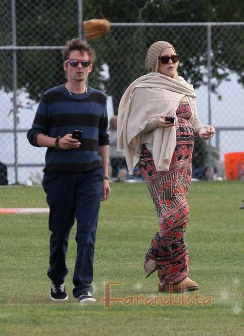 Kate Hudson y Matt Bellamy dan la bienvenida a su hijo!