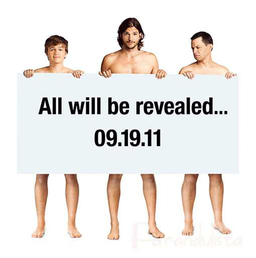 Nueva promo Two and a Half Men, los chicos desnudos...